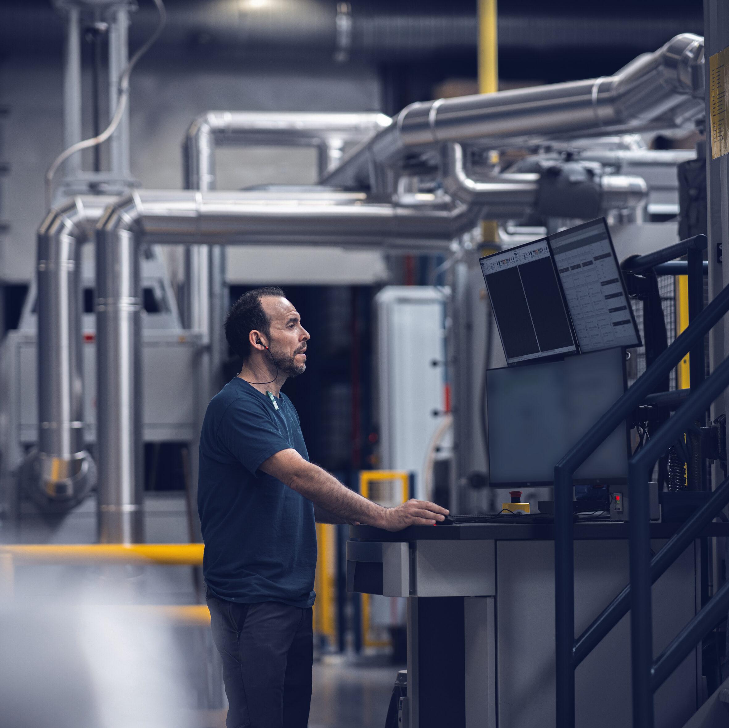 Automated quality control using Robovision AI